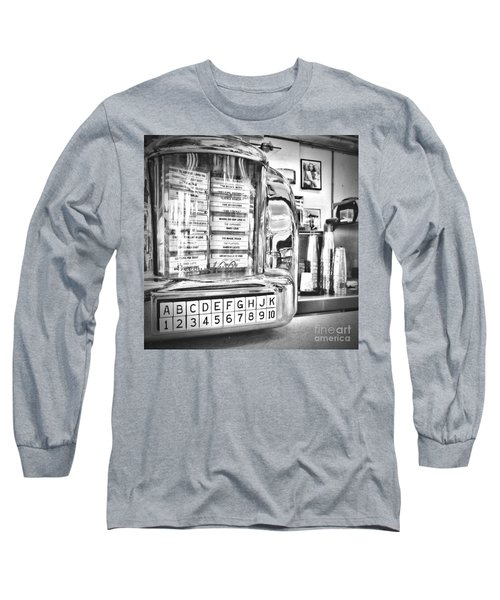 Name That Tune Long Sleeve T-Shirt by Peggy Hughes