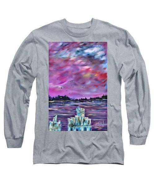 Neuse River Gulls North Carolina Long Sleeve T-Shirt