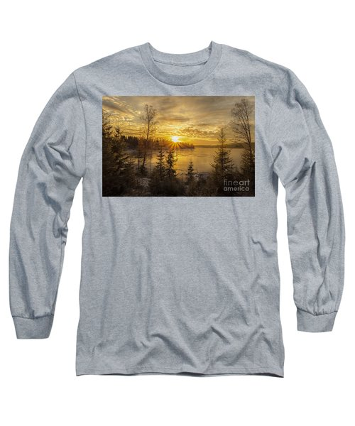 Long Sleeve T-Shirt featuring the photograph Norway by Rose-Maries Pictures
