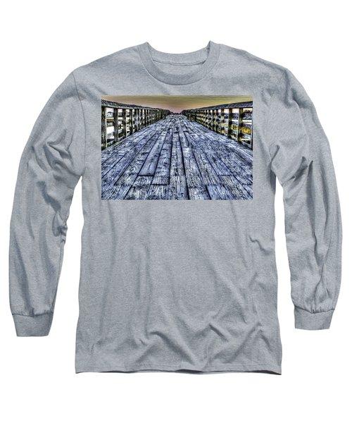 Old Pitt St Bridge Long Sleeve T-Shirt