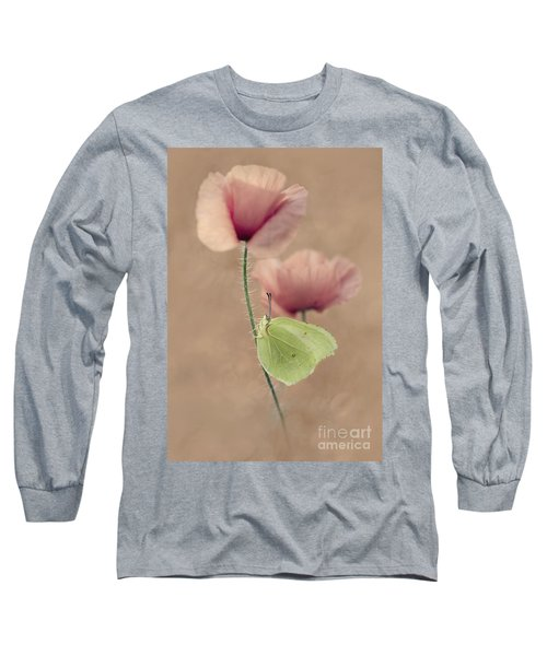Long Sleeve T-Shirt featuring the photograph Poppies by Jaroslaw Blaminsky
