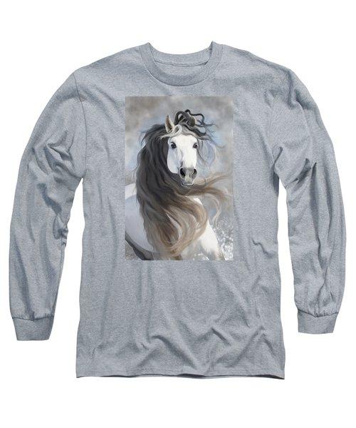 Snowflake Long Sleeve T-Shirt by Kate Black