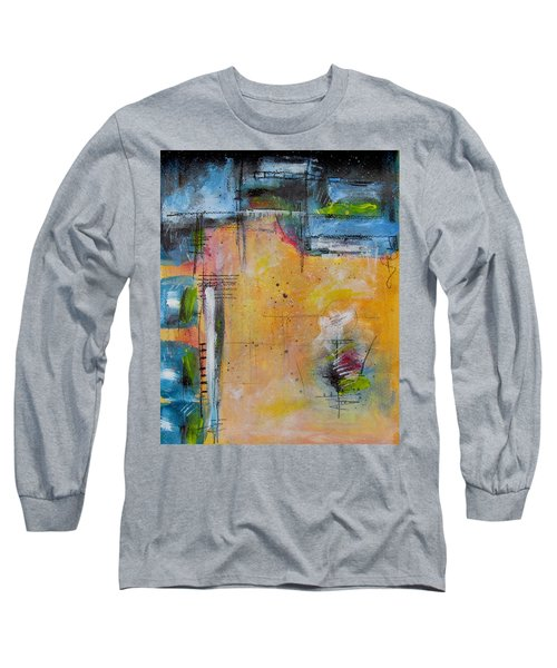 Long Sleeve T-Shirt featuring the painting Spring by Nicole Nadeau