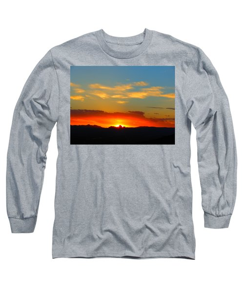 Sunset In The Desert Long Sleeve T-Shirt