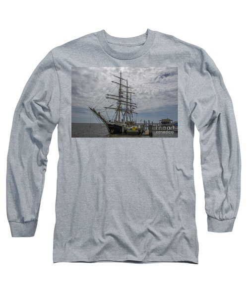 Long Sleeve T-Shirt featuring the photograph Tall Ship Gunilla by Dale Powell