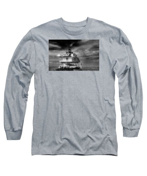 Thomas Point Shoal Lighthouse Bnw Long Sleeve T-Shirt