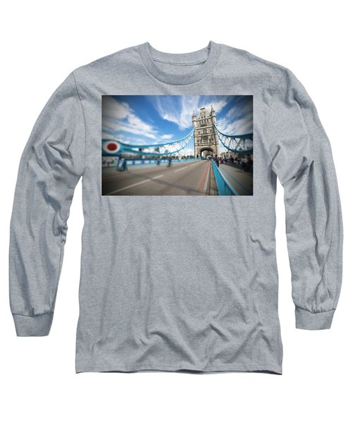 Long Sleeve T-Shirt featuring the photograph Tower Bridge In London by Chevy Fleet