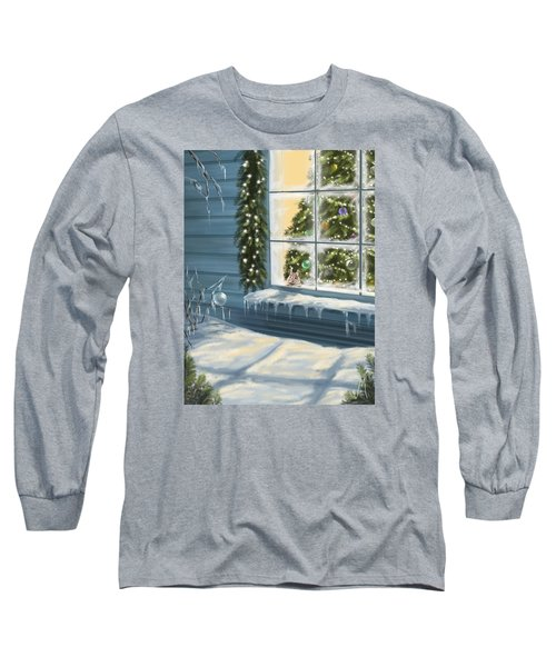 Waiting... Long Sleeve T-Shirt by Veronica Minozzi