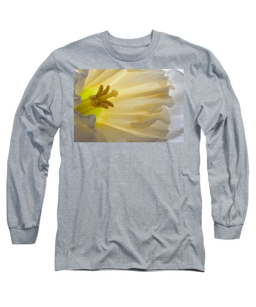 White Daffodil  Long Sleeve T-Shirt