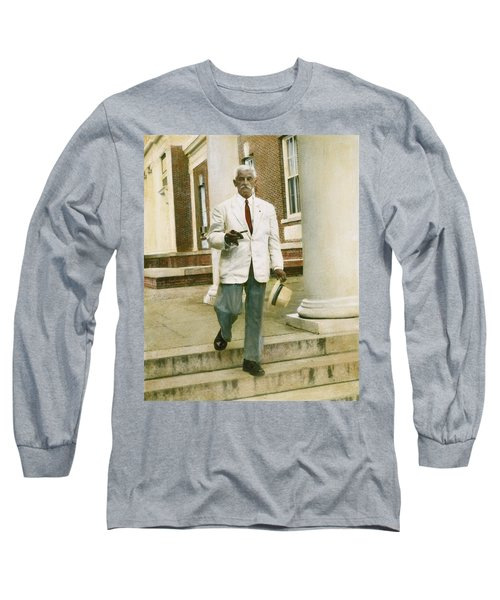 William Faulkner (1897-1962) Long Sleeve T-Shirt by Granger