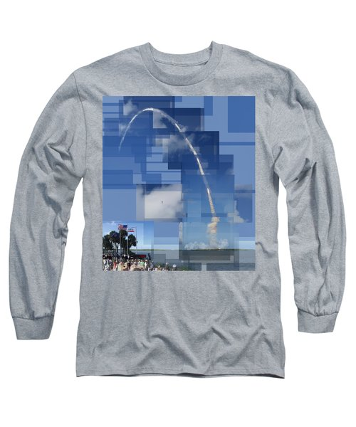 2008 Space Shuttle Launch Long Sleeve T-Shirt