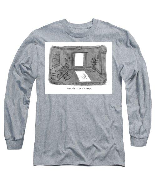 Solar Powered Catnap Long Sleeve T-Shirt