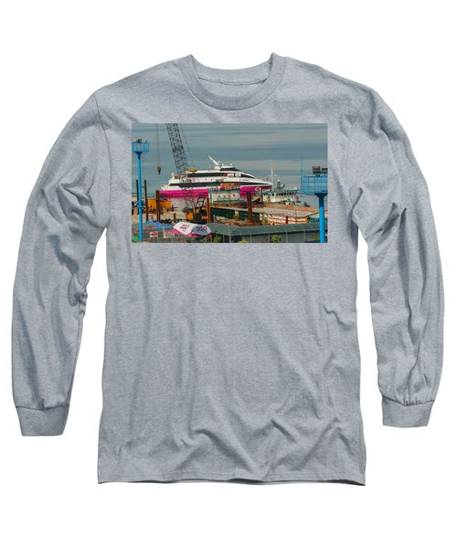 Long Sleeve T-Shirt featuring the photograph 2go Travel by Ester  Rogers