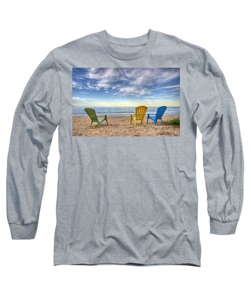 3 Chairs Long Sleeve T-Shirt