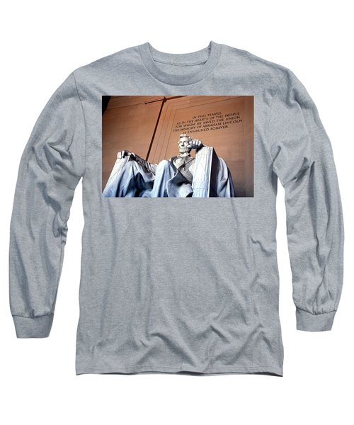 Lincoln Memorial Long Sleeve T-Shirt