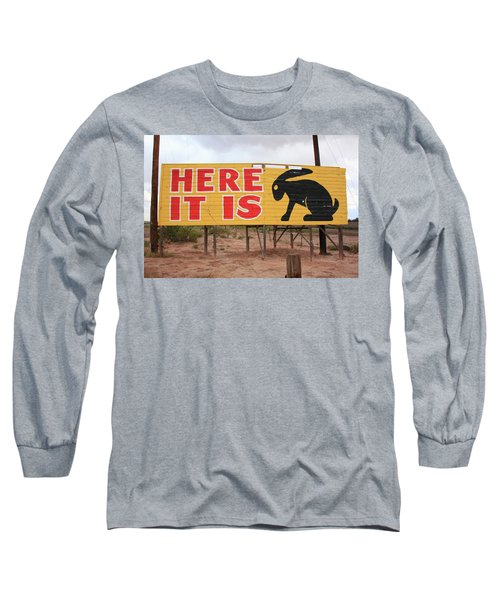 Route 66 - Jack Rabbit Trading Post Long Sleeve T-Shirt