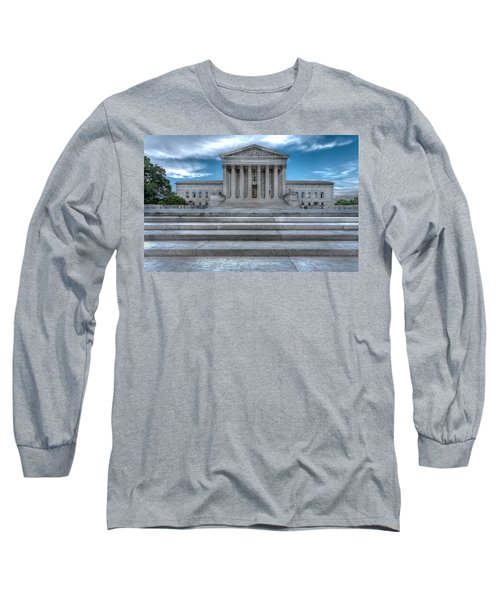 Long Sleeve T-Shirt featuring the photograph Supreme Court by Peter Lakomy