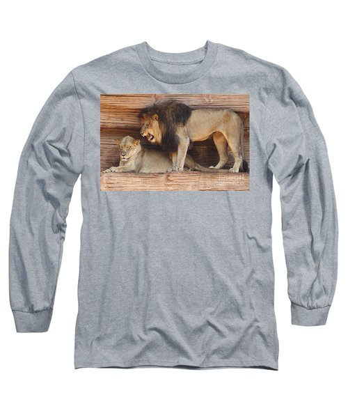 The Feline Honeymooners Long Sleeve T-Shirt