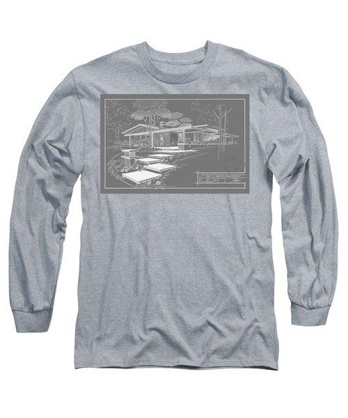 301 Cypress Drive - Charcoal Long Sleeve T-Shirt