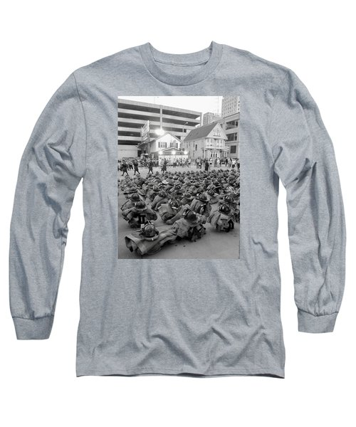 343 Boot Formation 2     Long Sleeve T-Shirt