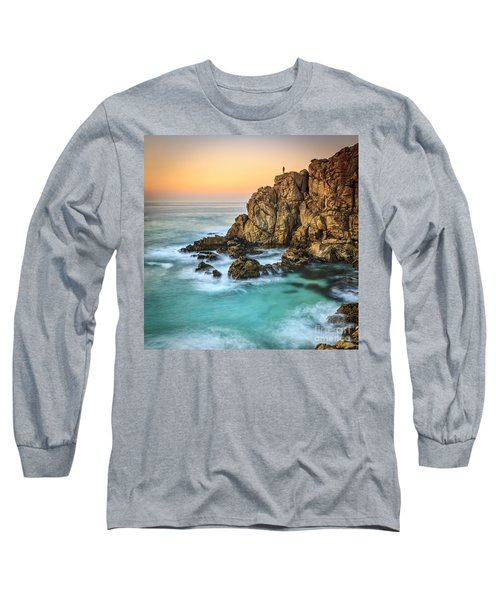 Penencia Point Galicia Spain Long Sleeve T-Shirt by Pablo Avanzini