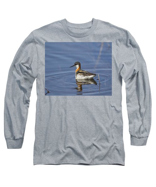 Rednecked Phalarope Long Sleeve T-Shirt