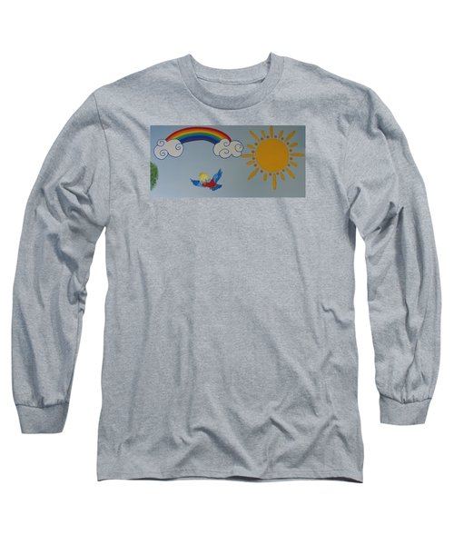 Wall Painting Long Sleeve T-Shirt