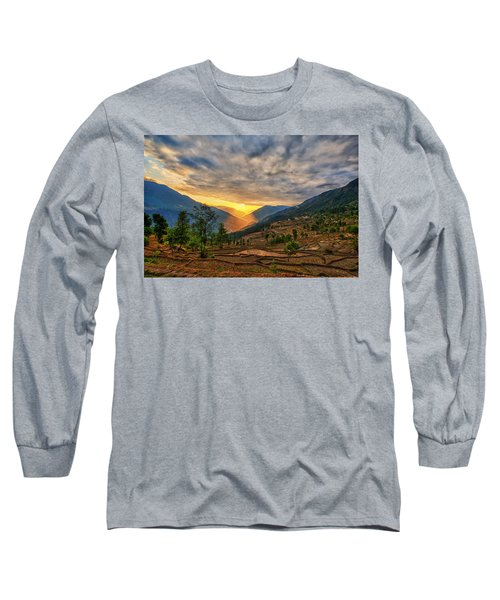 Kalinchok Kathmandu Valley Nepal Long Sleeve T-Shirt