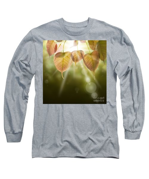 Pho Or Bodhi Long Sleeve T-Shirt