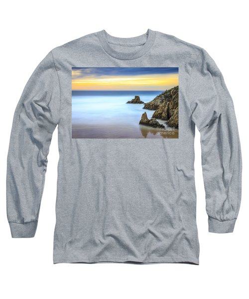 Campelo Beach Galicia Spain Long Sleeve T-Shirt