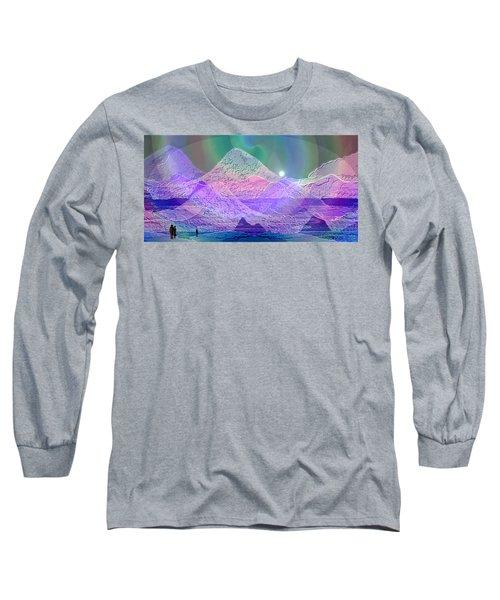 939 - Magic Mood  Mountain World Long Sleeve T-Shirt