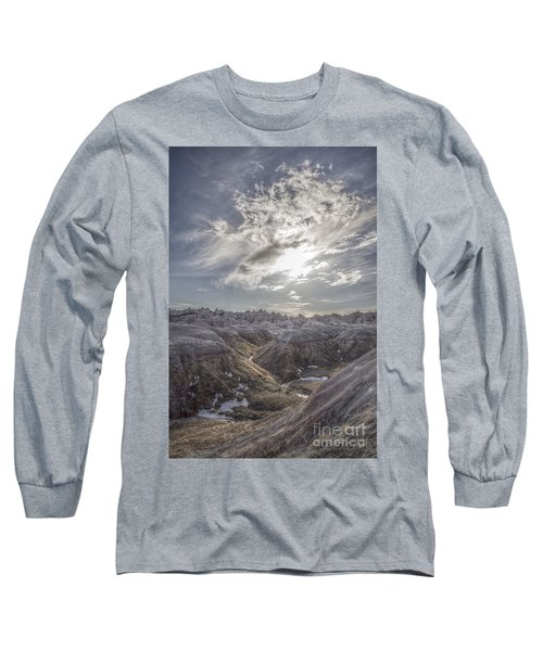 A Badlands Afternoon Long Sleeve T-Shirt