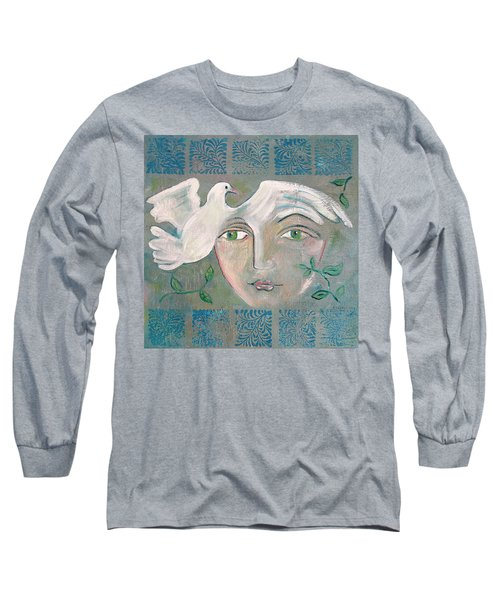 A Captured Young Emotion Long Sleeve T-Shirt by John Keaton
