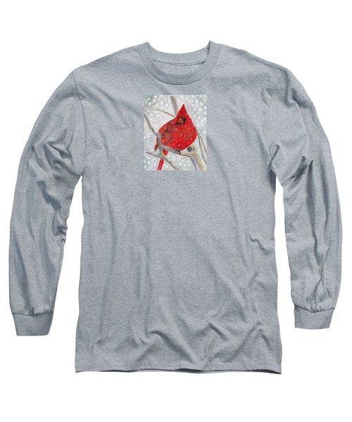 A Cardinal Winter Long Sleeve T-Shirt