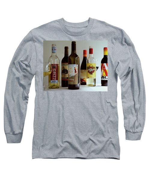 A Collection Of Wine Bottles Long Sleeve T-Shirt