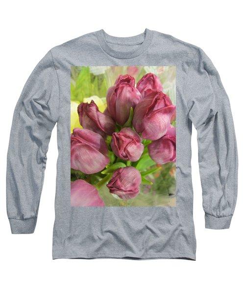 A Cool Bouquet  Long Sleeve T-Shirt