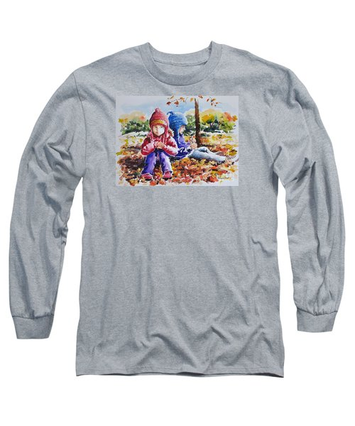 A Crop Of Good Friends Long Sleeve T-Shirt