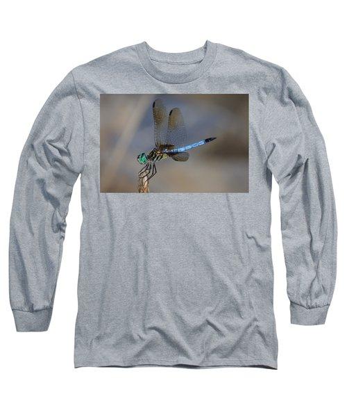 A Dragonfly Iv Long Sleeve T-Shirt by Raymond Salani III