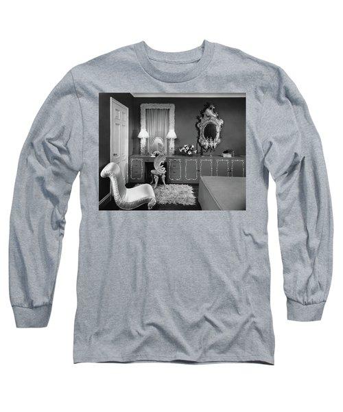 A Dressing Room Long Sleeve T-Shirt