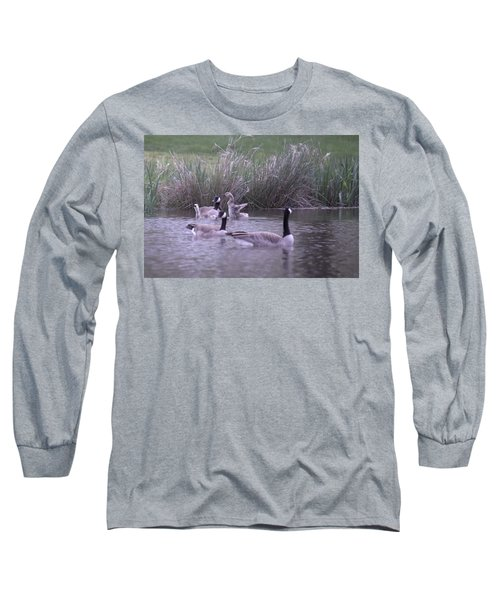 A Frolicsome Goosling Long Sleeve T-Shirt