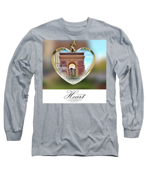 A Fury For Flavor, Arc De Triomphe, Las Long Sleeve T-Shirt