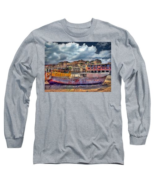 A Genesis Sunrise Over The Old City Long Sleeve T-Shirt