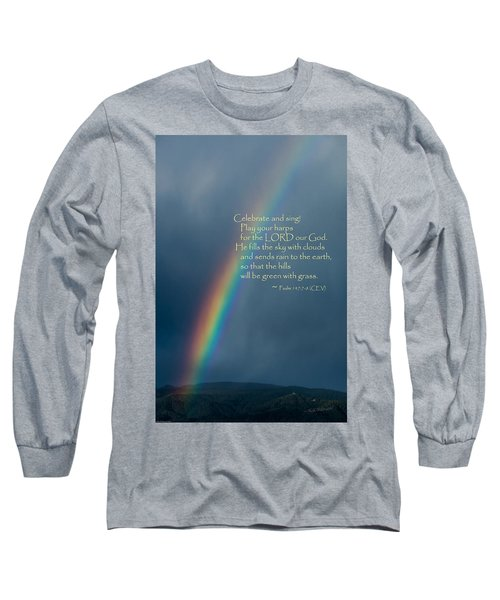 A Gift From God Long Sleeve T-Shirt by Mick Anderson
