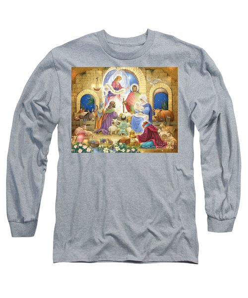 A Glorious Nativity Long Sleeve T-Shirt