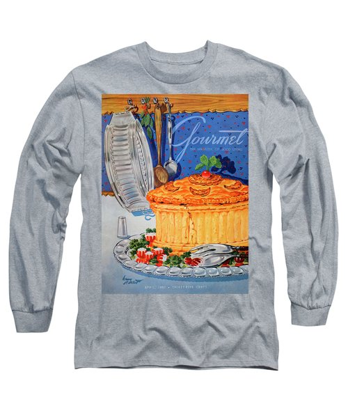 A Gourmet Cover Of Pate En Croute Long Sleeve T-Shirt