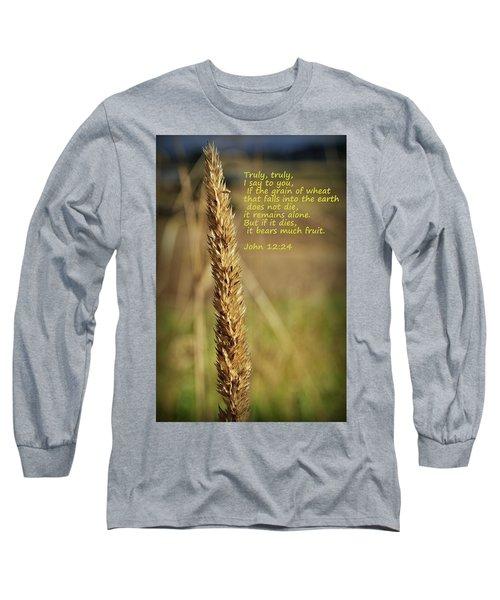 A Grain Of Wheat Long Sleeve T-Shirt