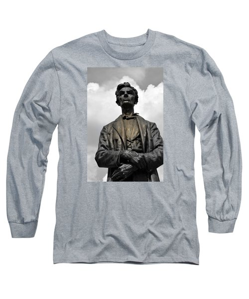 A Great Man Long Sleeve T-Shirt by Kathy Barney