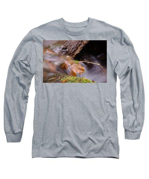 A Leaf Captured Long Sleeve T-Shirt