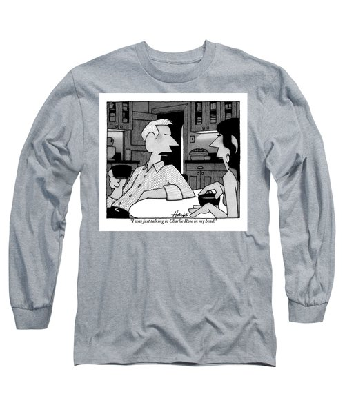 A Man To His Wife Long Sleeve T-Shirt