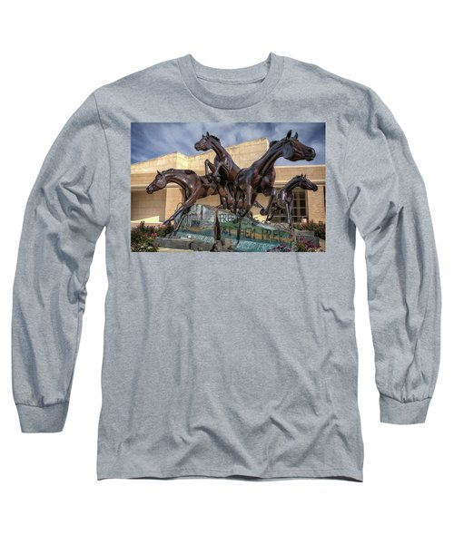 A Monument To Freedom Long Sleeve T-Shirt